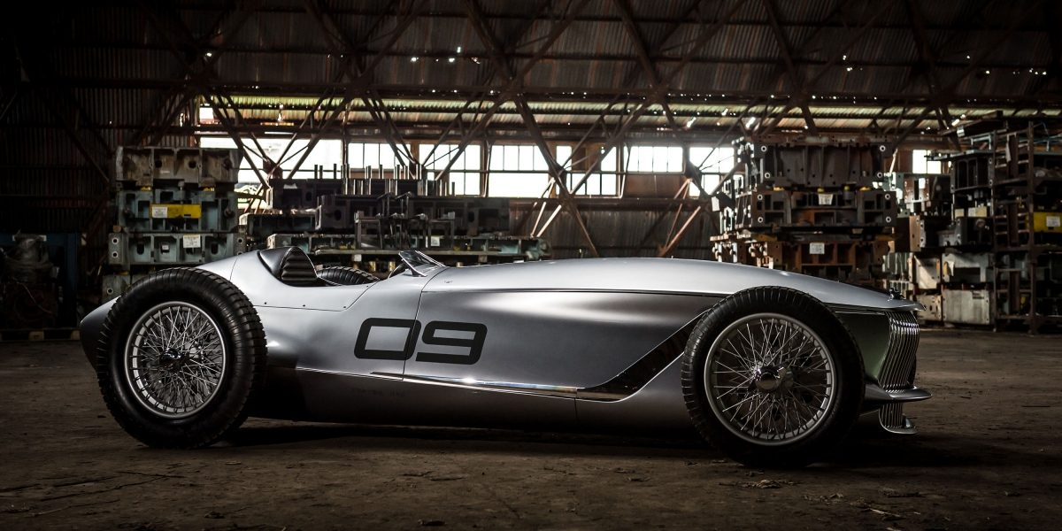 A Classic Look With a Drive Train of the Future   INFINITI Prototype 9 e-roadster