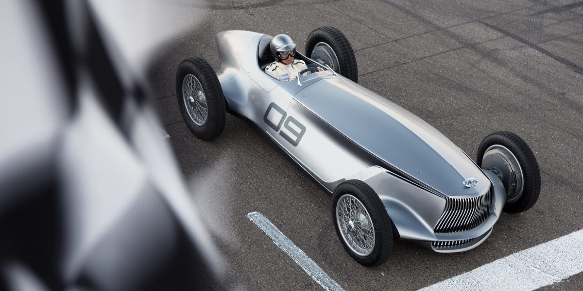 A Celebration for INFINITI's Passion for Design and Racing   INFINITI Prototype 9 e-roadster