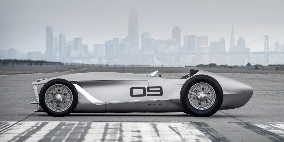 Side Profile Design   INFINITI Prototype 9 e-roadster