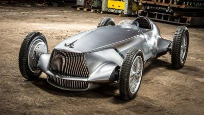 Infiniti Brought to Life its Prototype 9 Open-Wheel, Electric Retro e-Roadster   INFINITI Prototype 9 e-roadster