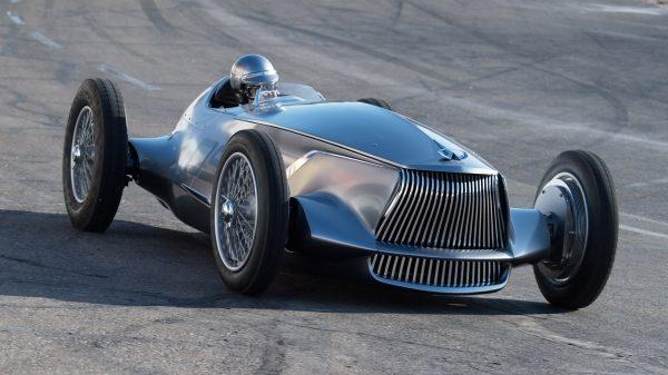 A Dynamic Drivable Prototype with a Next-Generation EV Powertrain   INFINITI Prototype 9 e-roadster