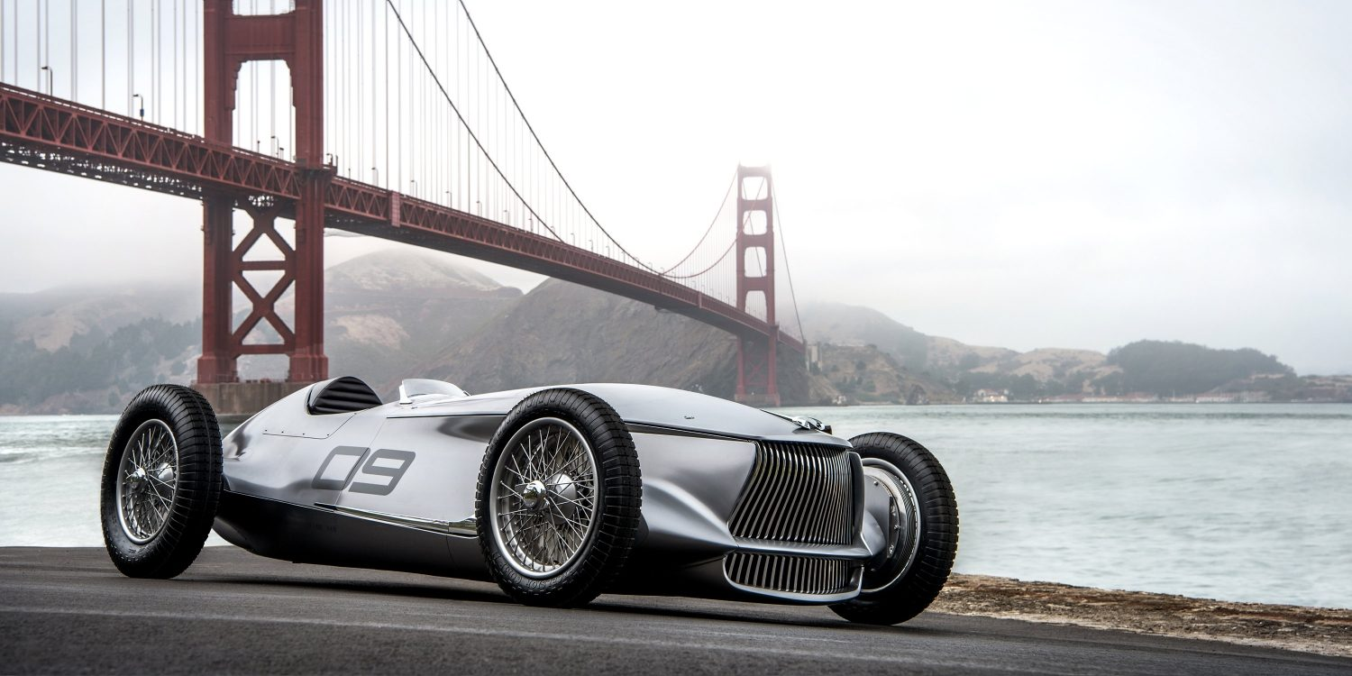 INFINITI Prototype 9 e-roadster | First Drive, First Dream