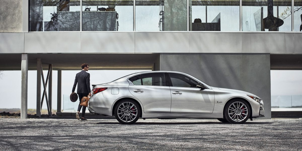 2020 INFINITI Q50 Sport Sedan Design Side View