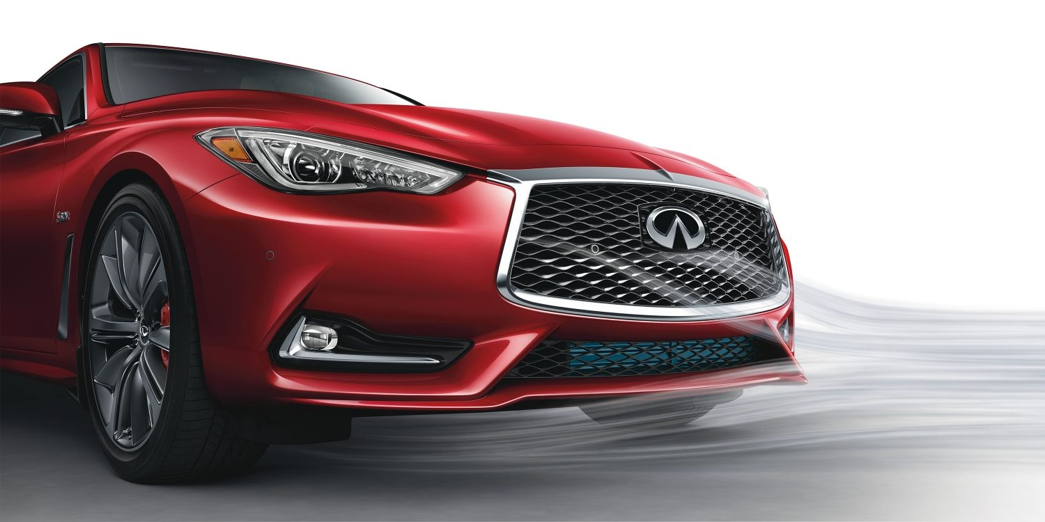 2018 INFINITI Q60 Red Sport 400 Sports Coupe Design Gallery | Signature INFINITI Grille