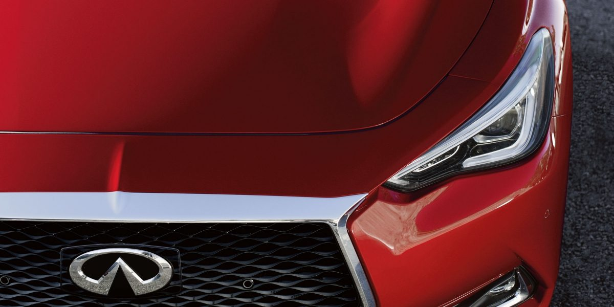 2018 INFINITI Q60 Red Sport 400 Sports Coupe Design | LED Headlights