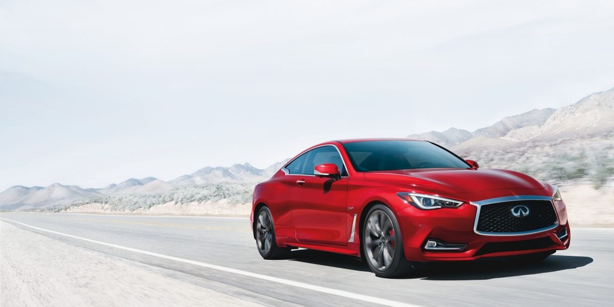 2018 Infiniti Q60 Red Sport 400 Performance Sports Coupe And