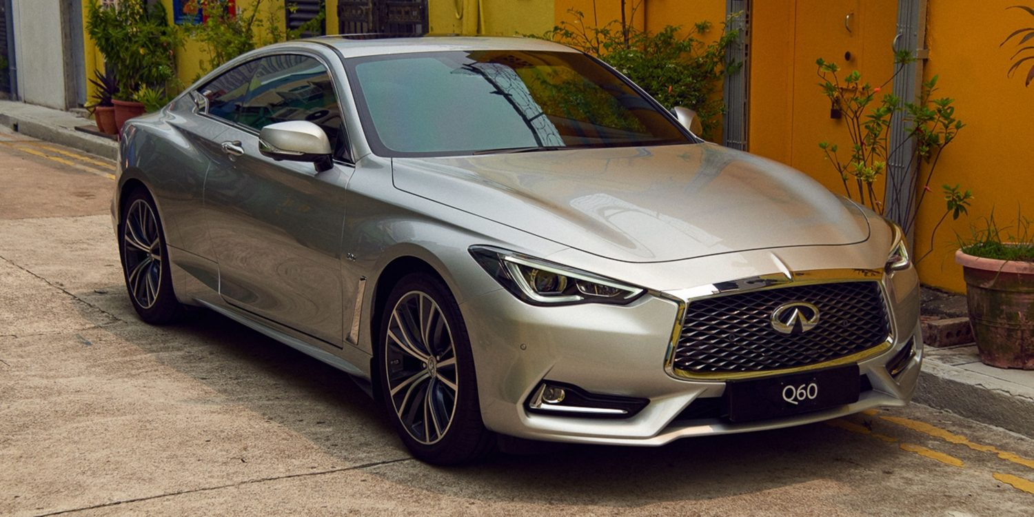 2020 INFINITI Q60 Red Sport 400 Performance Sports Coupe