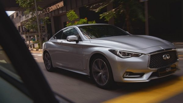 2021 INFINITI Q60 Blind Spot Warning & Intervention
