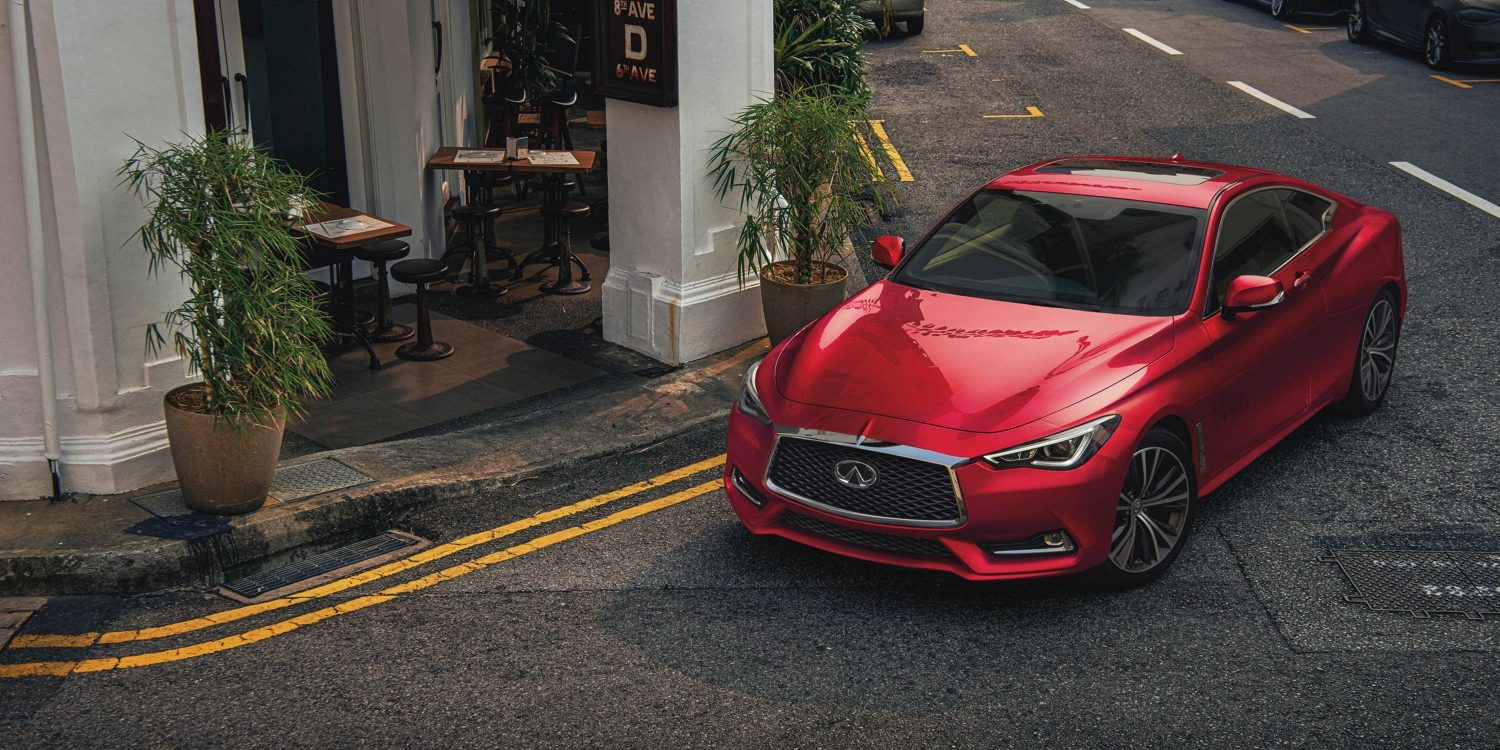 2021 INFINITI Q60 digital Direct Adaptive Steering