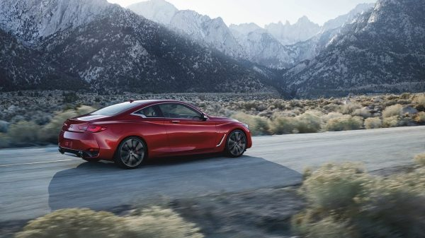 2021 INFINITI Q60 Intelligent All-Wheel Drive