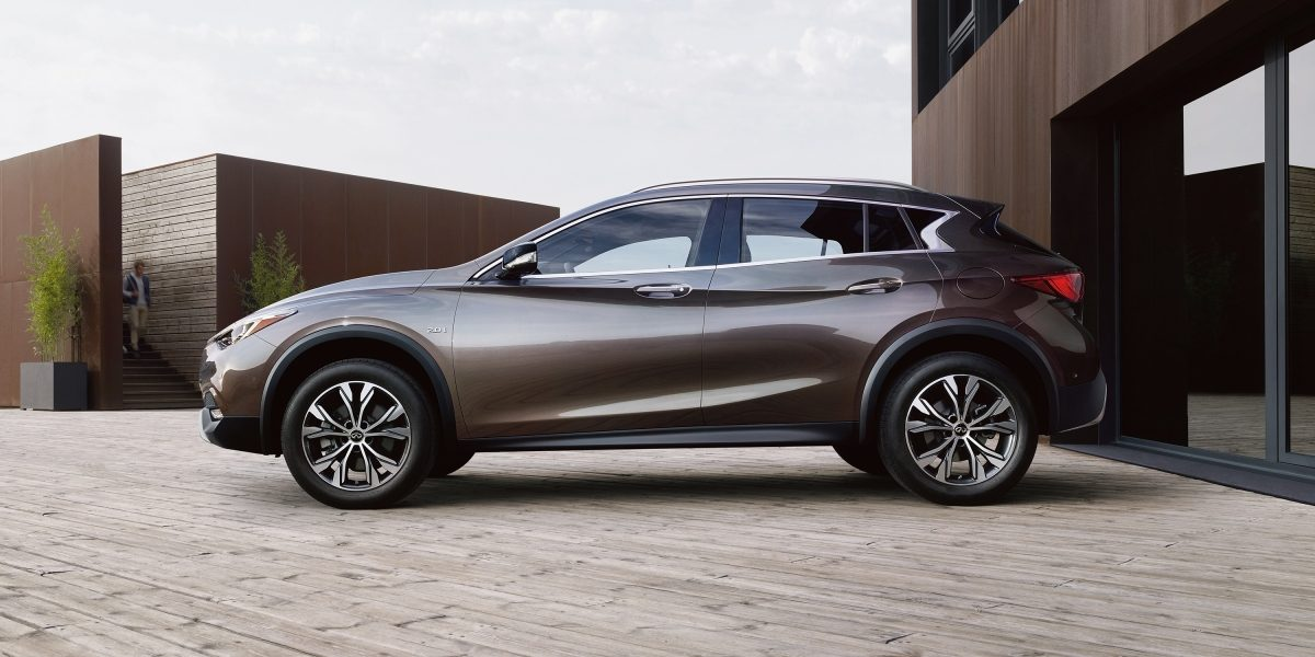 2018 INFINITI QX30 Premium Crossover Electronic Brake Force Distribution