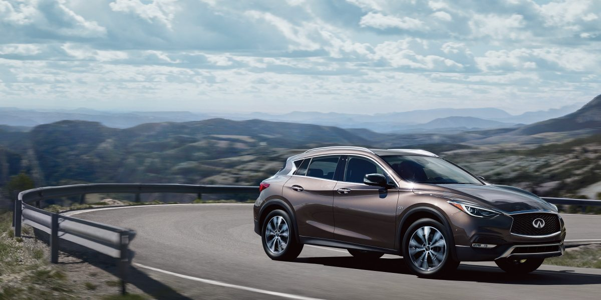 2018 INFINITI QX30 Premium Crossover, Rear View