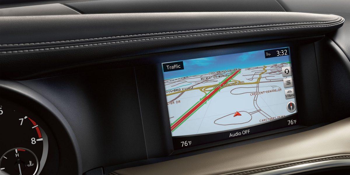 2018 INFINITI QX30 Premium Crossover Navigation
