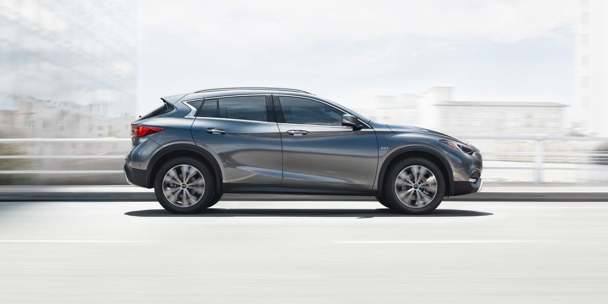 2018 INFINITI QX30 Crossover Design Features