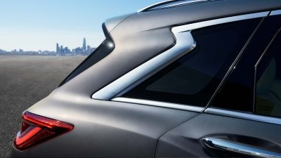 2019 INFINITI QX50 Crescent Cut D-Pillar