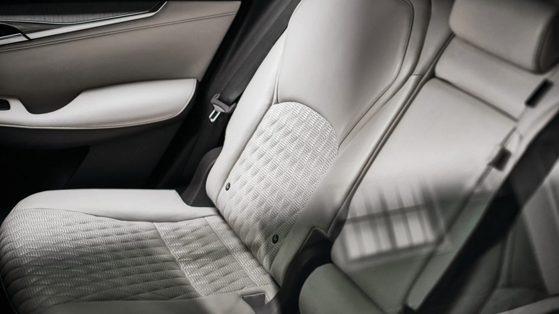 2020 INFINITI QX50 Luxury Crossover White Leather Interior