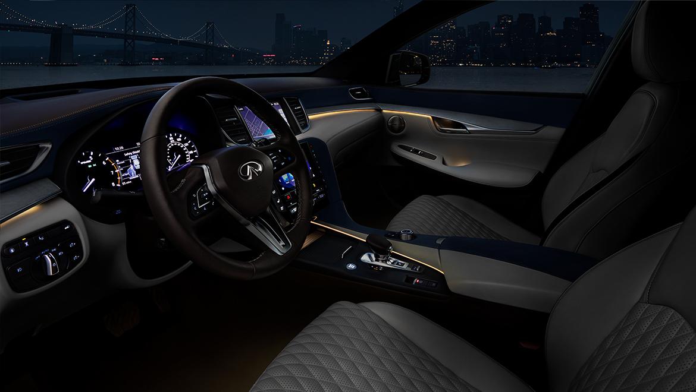 2020 INFINITI QX50 Luxury Crossover Cockpit Interior Design