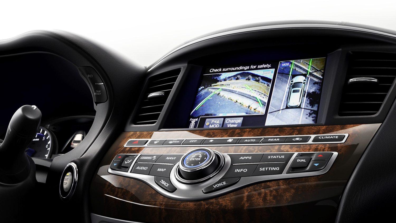 2018 infiniti qx60 crossover exterior front fascia