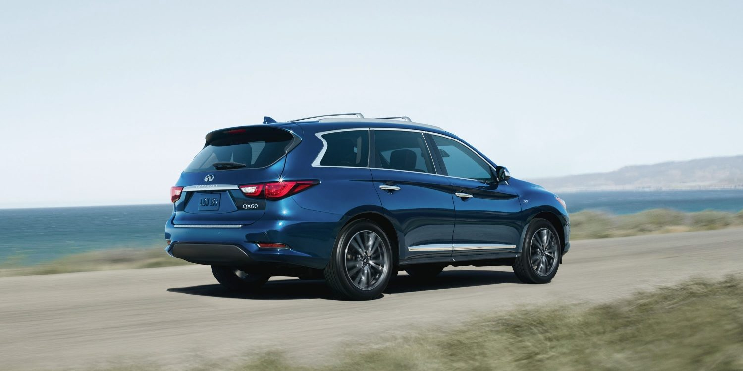 2018 INFINITI QX60 Crossover exterior side profile