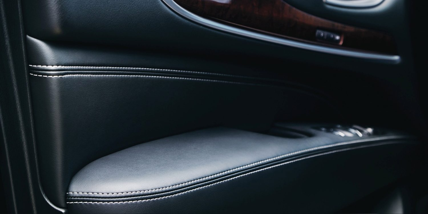 2018 INFINITI QX60 Crossover interior leather trim