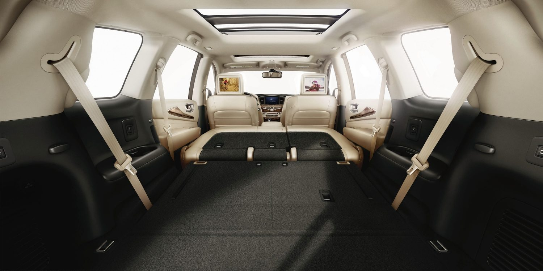 2018 infiniti qx60 premium crossover infiniti - Small suv cargo space property ...