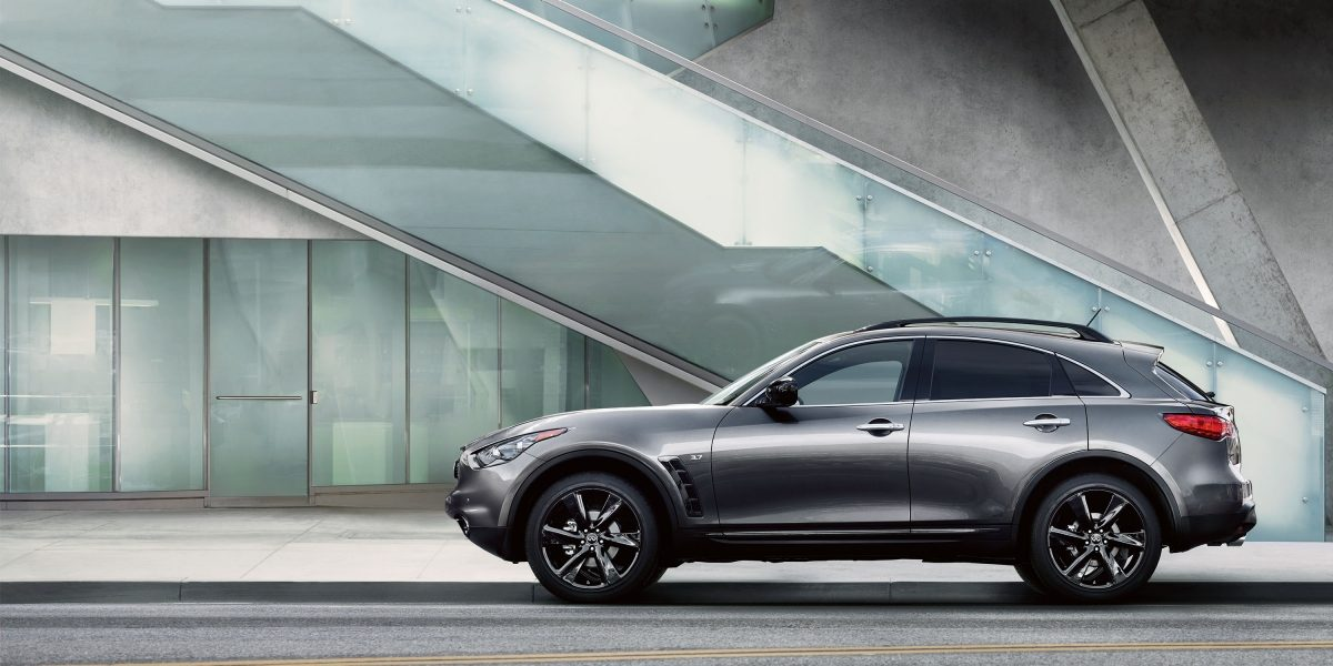 2018 INFINITI QX70 Signature Design Highlights