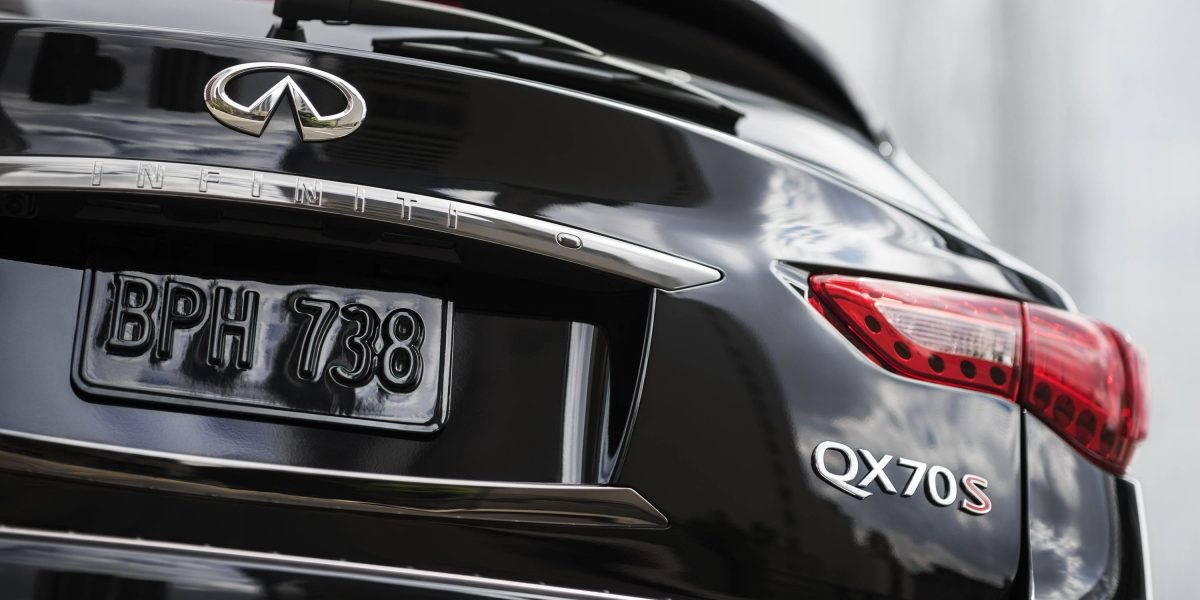 2018 INFINITI QX70 Rear LED Taillights