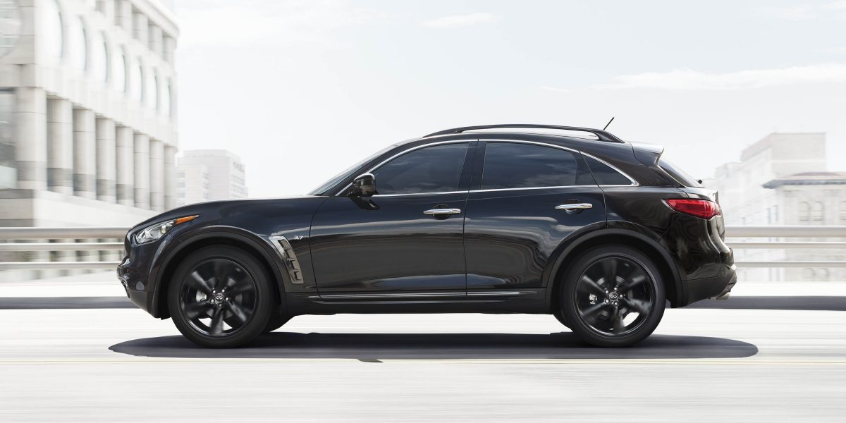 2018 INFINITI QX70 Side View