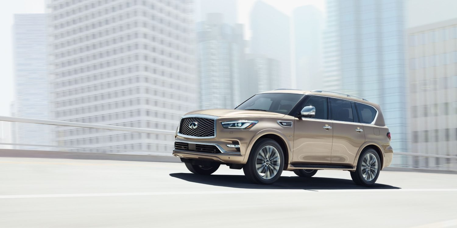 2018 INFINITI QX80 SUV | A Distinctive and Powerful Luxury SUV