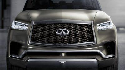 INFINITI QX80 Monograph Luxury SUV Concept's Double-Arch Grille