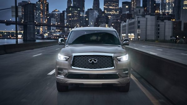 2019 INFINITI QX80 SUV Commanding Presence All-New Signature Grille