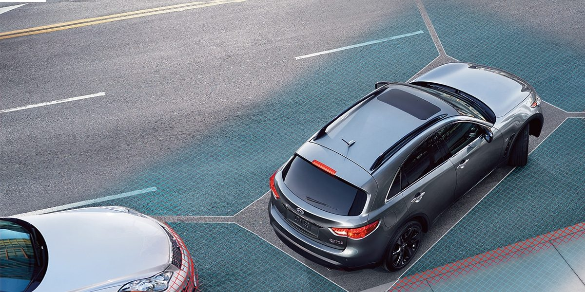 INFINITI Around View® Monitor With Moving Object Detection