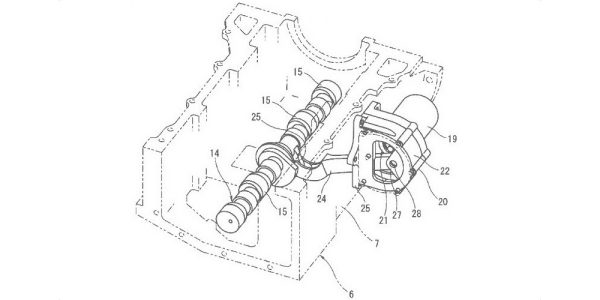 VC-Turbo Engine Patent from INFINITI