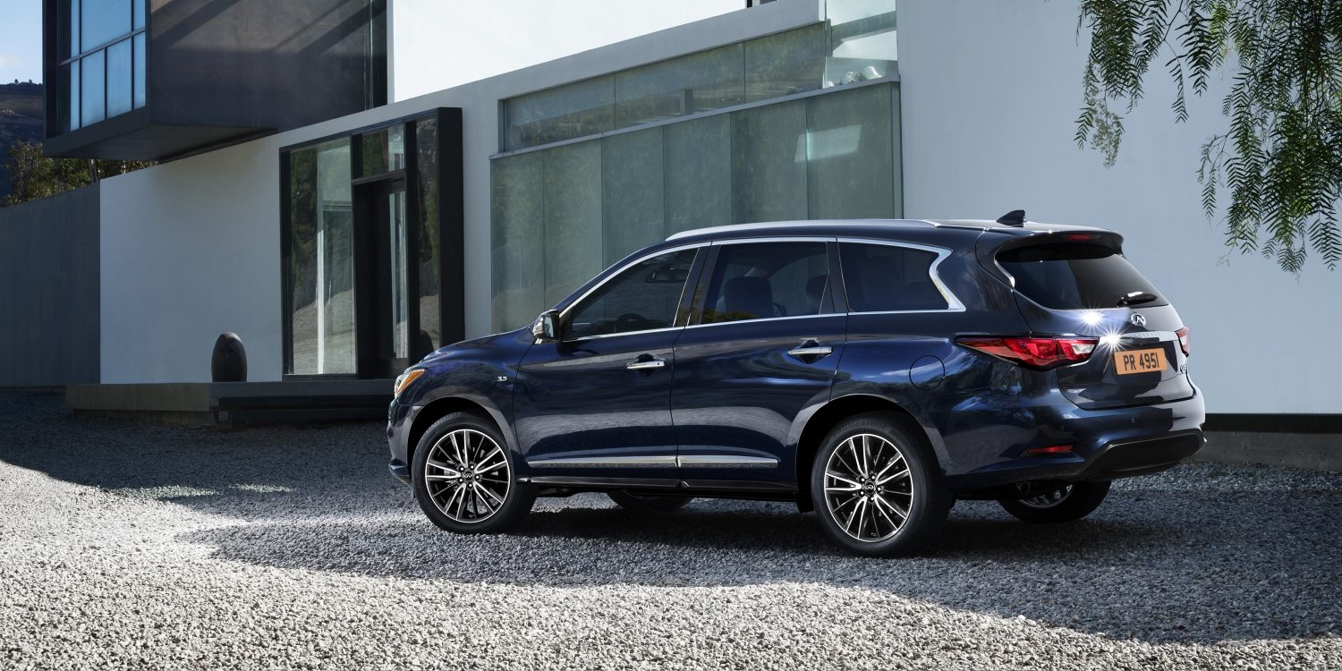 The 2017 infiniti qx60 was recently named the best luxury three row suv for families by u s news world report the award highlights vehicles with