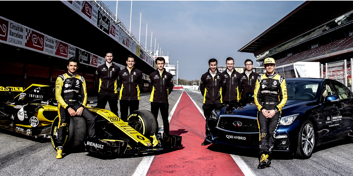 INFINITI Engineering Academy – Integration in die Formel 1