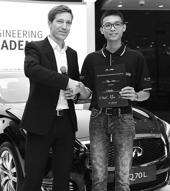 INFINITI Engineering Academy Winner Yifei Liao