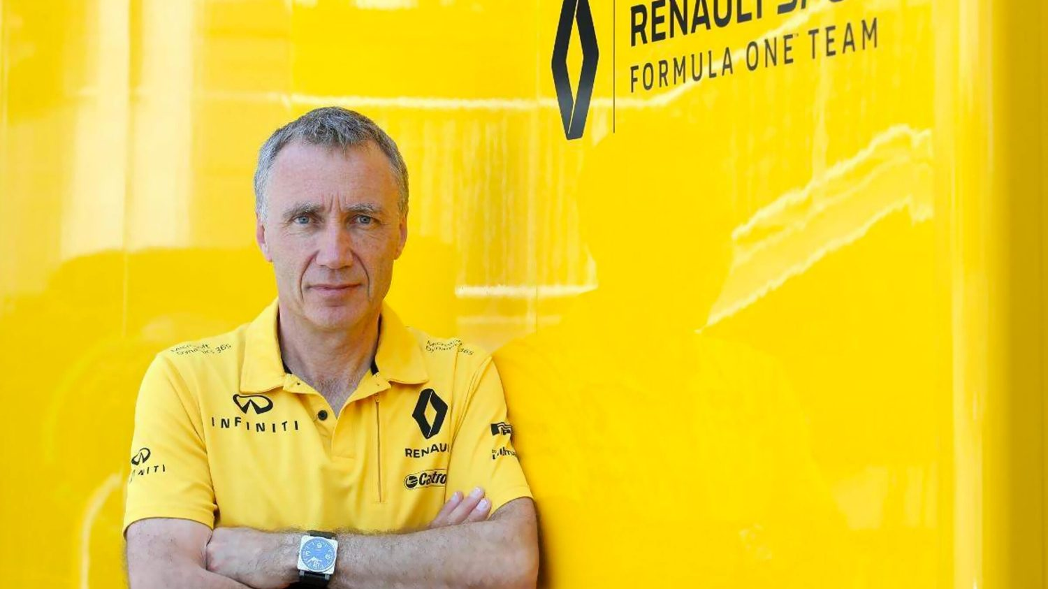 Chief Technical Officer, Bob Bell, Renault Formula One Sport Racing