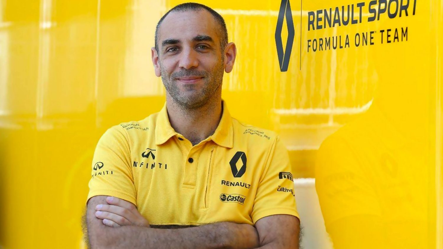 Managing Director, Cyril Abiteboul, Renault Formula One Sport Racing