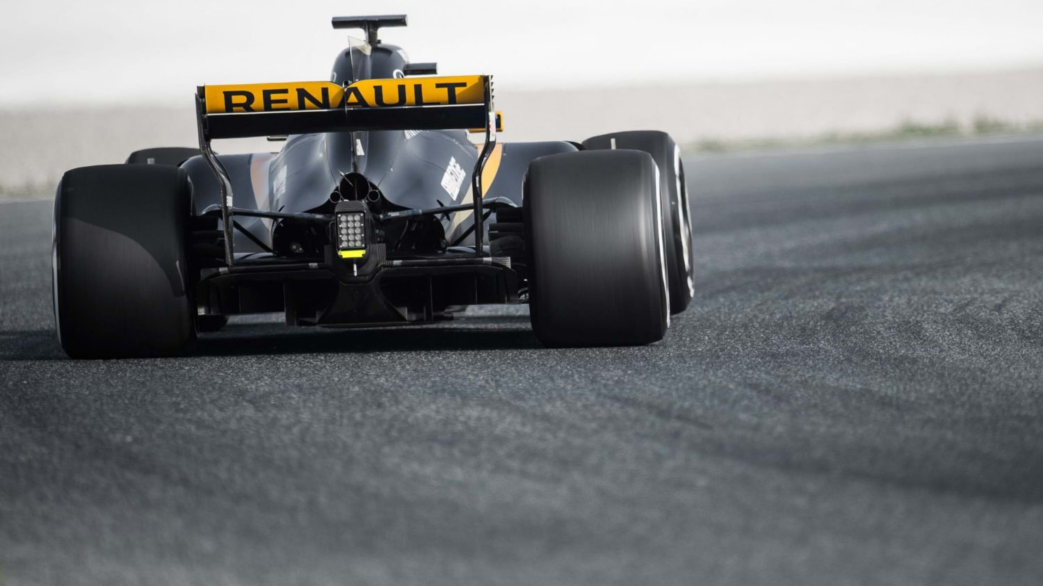 Renault R.S.17 Renault Sport Formula One Car Rear Wing