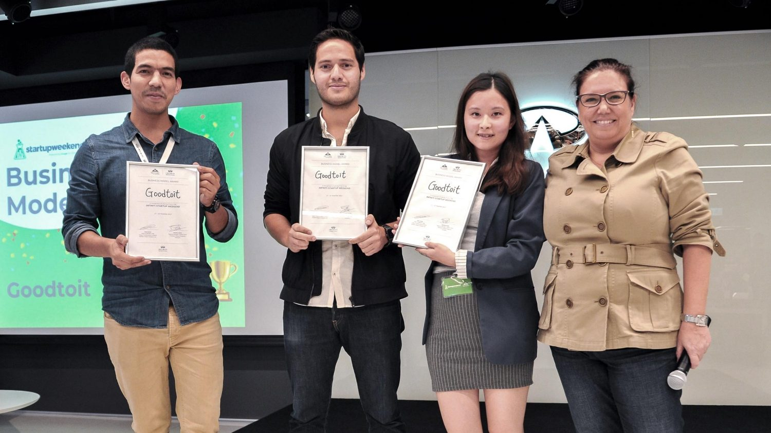 INFINITI LAB Startup Weekend | Hong Kong winner Foodzag