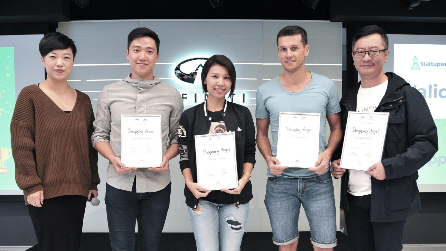 INFINITI LAB Startup Weekend | Hong Kong winner Shopping Angel