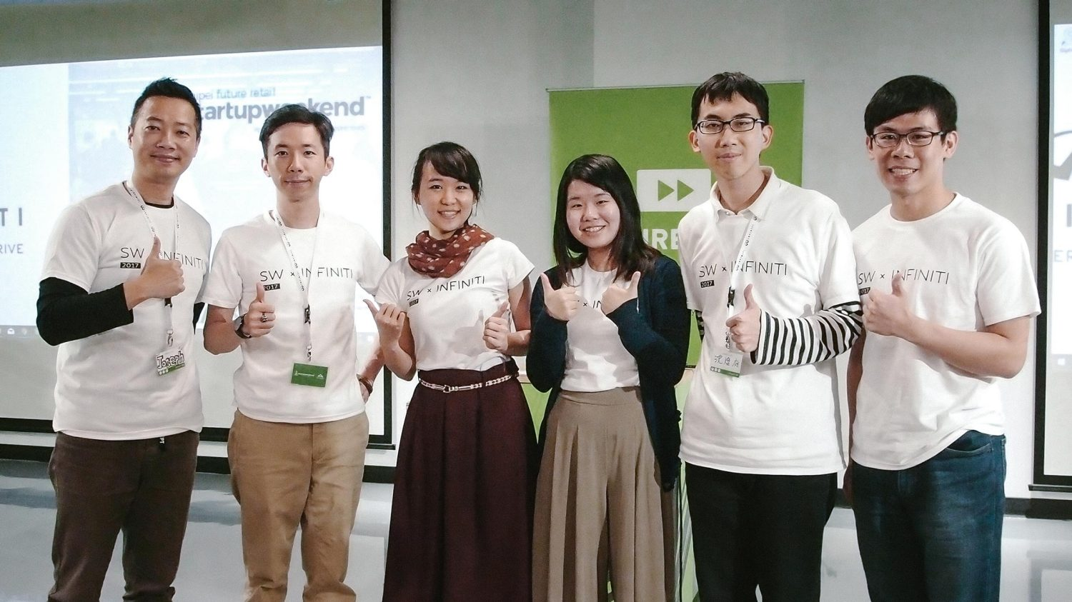 INFINITI LAB Startup Weekend | Weekend winner Sweet Heart