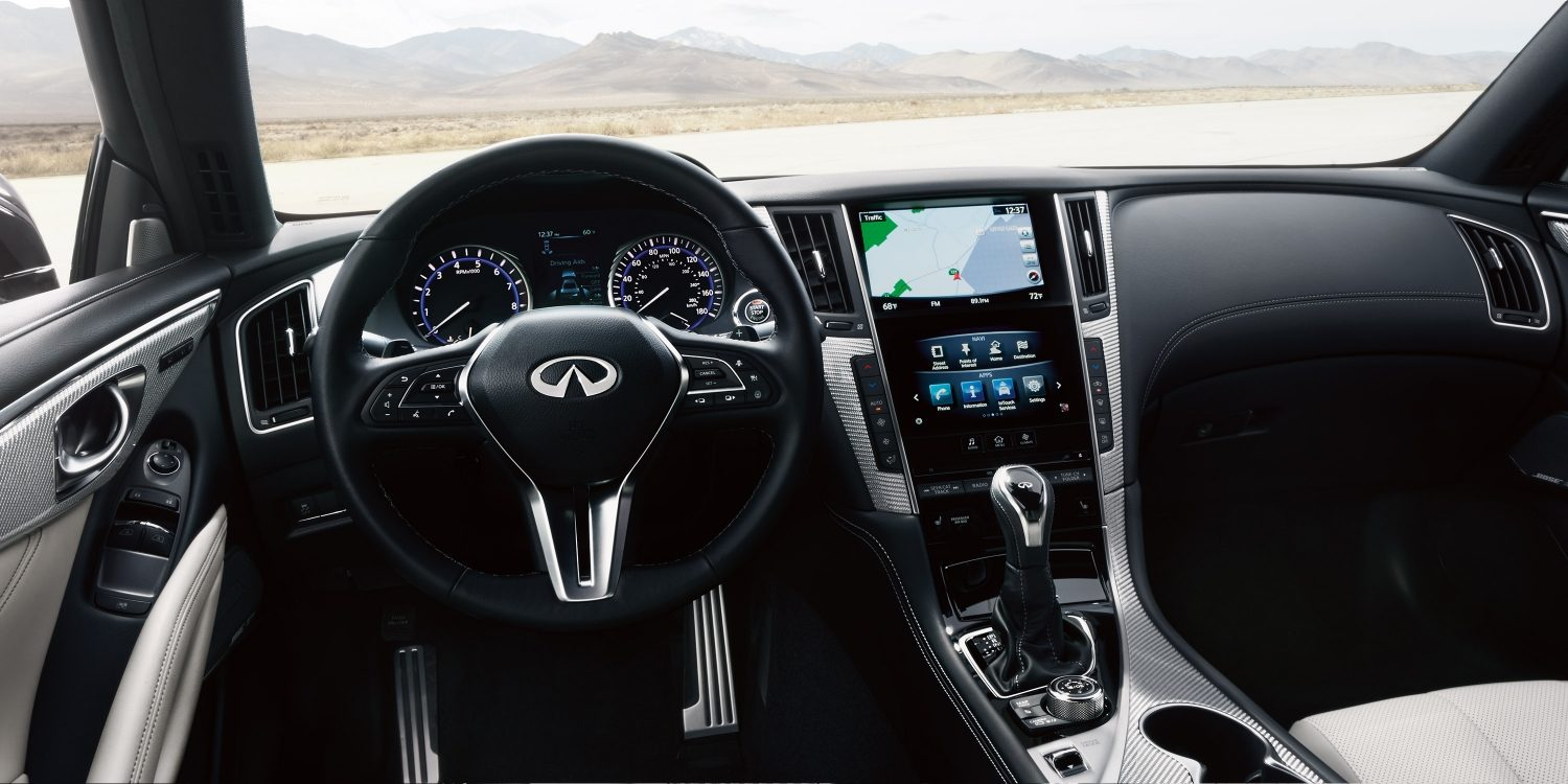 2020 INFINITI Q60 Red Sport 400 Sports Coupe Connectivity and In-Car Entertainment