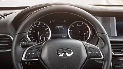 2018 INFINITI QX30 Premium Crossover Paddle Shifters