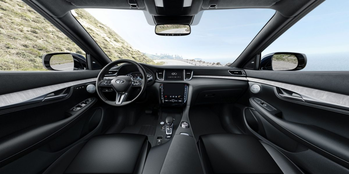 2019 INFINITI QX50 Luxury Crossover Interior