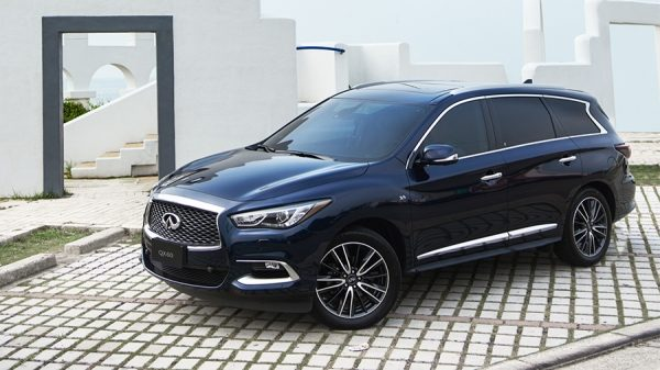 2018 INFINITI QX60 Crossover Intelligent All-Wheel Drive