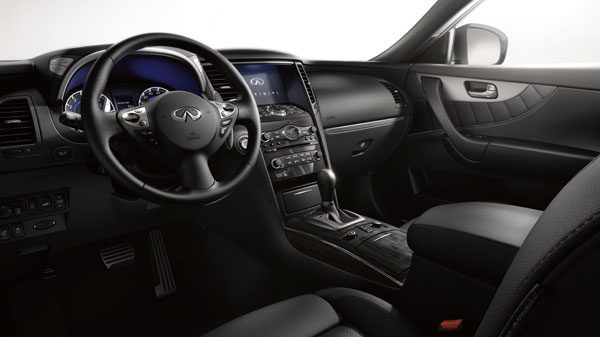 2018 INFINITI QX70 Leather Appointed Seats