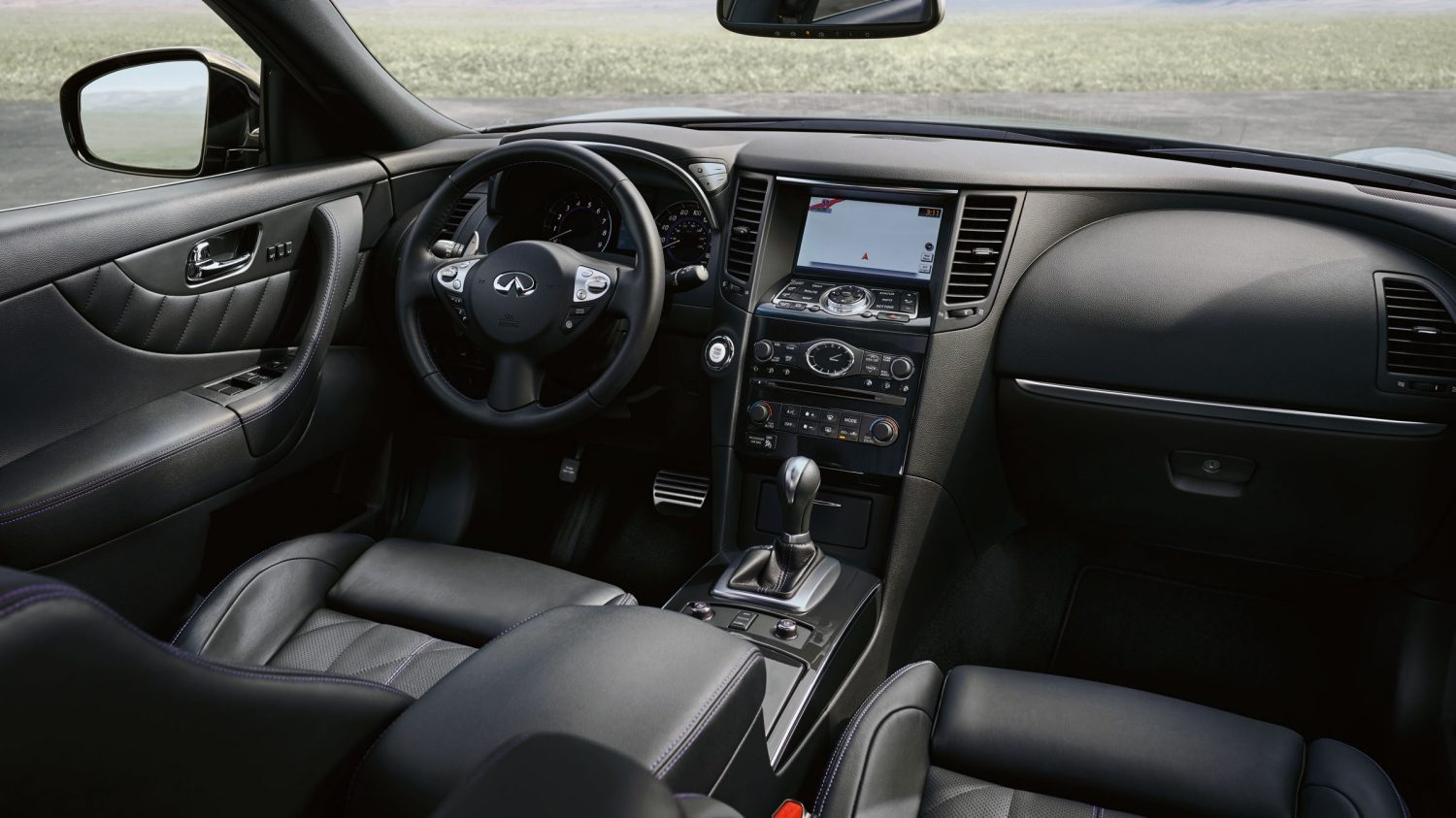 2018 INFINITI QX70 Connectivity