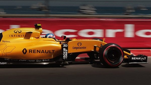 Infiniti F1 Partnership