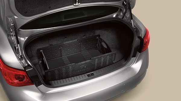 Trunk Organizer with floor - folds flat and removable